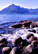 Skye coastline at Elgol